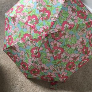 Accessories - Lilly Pulitzer travel umbrella